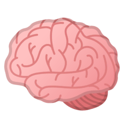 Brain Emoji on Google Android and Chromebooks