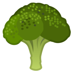 Broccoli Emoji on Google Android and Chromebooks