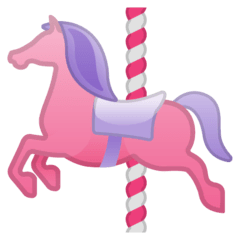 Carousel Horse Emoji on Google Android and Chromebooks