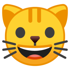 Cat Face Emoji on Google Android and Chromebooks