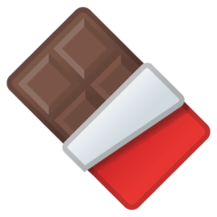 Chocolate Bar Emoji on Google Android and Chromebooks