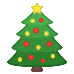 Christmas Tree Emoji on Google Android and Chromebooks