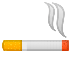 Cigarrillo Emoji Google Android, Chromebook