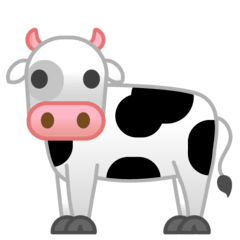 Vache Émoji Google Android, Chromebook