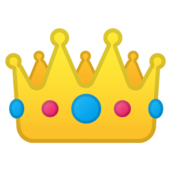 Crown Emoji on Google Android and Chromebooks