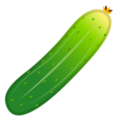 Cucumber Emoji on Google Android and Chromebooks