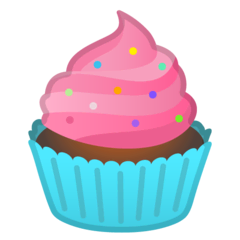 Cupcake Emoji on Google Android and Chromebooks
