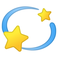 Dizzy Emoji on Google Android and Chromebooks