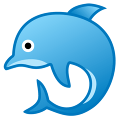 Dolphin Emoji on Google Android and Chromebooks
