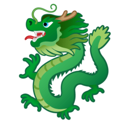 Dragon Emoji on Google Android and Chromebooks