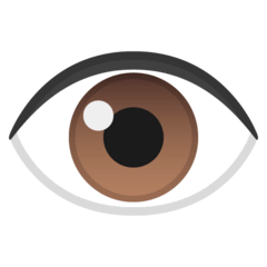 Eye Emoji on Google Android and Chromebooks