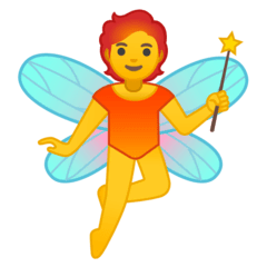Fairy Emoji on Google Android and Chromebooks