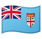 Flag: Fiji Emoji on Google Android and Chromebooks