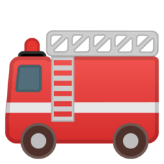Fire Engine Emoji on Google Android and Chromebooks