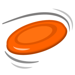 Flying Disc Emoji on Google Android and Chromebooks