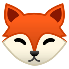 Fox Emoji on Google Android and Chromebooks