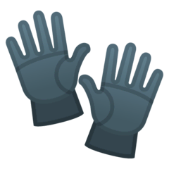 Gloves Emoji on Google Android and Chromebooks