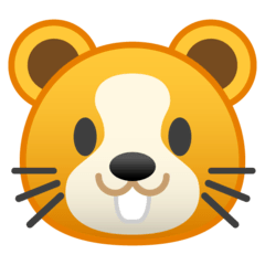 Hamster Emoji on Google Android and Chromebooks