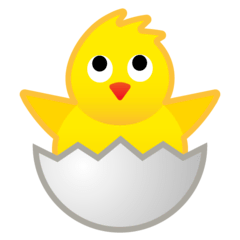 Hatching Chick Emoji on Google Android and Chromebooks