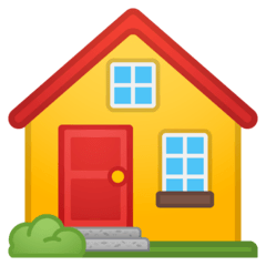 House Emoji on Google Android and Chromebooks
