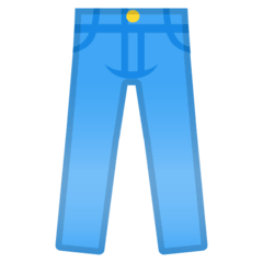 Jeans Emoji on Google Android and Chromebooks
