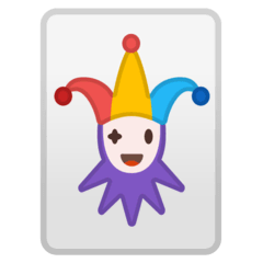 Joker Emoji on Google Android and Chromebooks