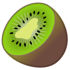 Kiwi Fruit Emoji on Google Android and Chromebooks
