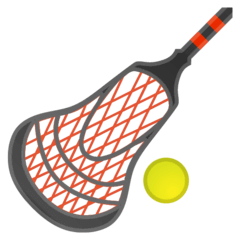 Lacrosse Emoji on Google Android and Chromebooks
