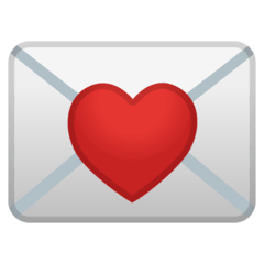 Love Letter Emoji on Google Android and Chromebooks