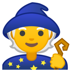 Zauberer(in) Emoji Google Android, Chromebook