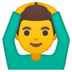 Man Gesturing OK Emoji on Google Android and Chromebooks
