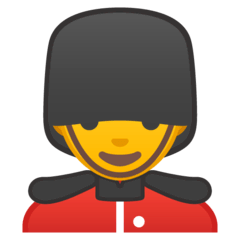 Man Guard Emoji on Google Android and Chromebooks
