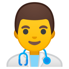 ️Man Health Worker Emoji on Google Android and Chromebooks