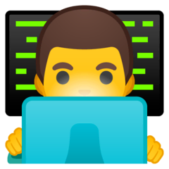 Technologe Emoji Google Android, Chromebook