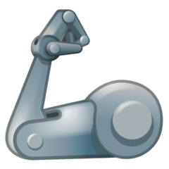 Mechanical Arm Emoji on Google Android and Chromebooks