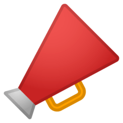Megaphone Emoji on Google Android and Chromebooks