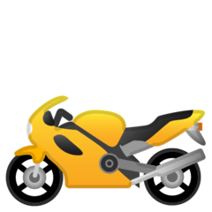 Motorcycle Emoji on Google Android and Chromebooks