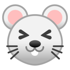 Mouse Face Emoji on Google Android and Chromebooks