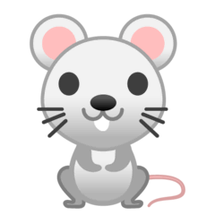 Mouse Emoji on Google Android and Chromebooks