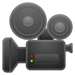 Movie Camera Emoji on Google Android and Chromebooks