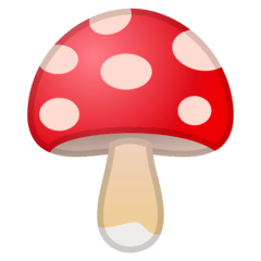 Mushroom Emoji on Google Android and Chromebooks