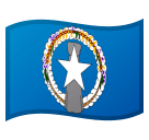 Flag: Northern Mariana Islands Emoji on Google Android and Chromebooks