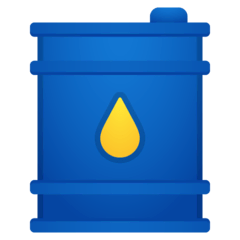 Oil Drum Emoji on Google Android and Chromebooks