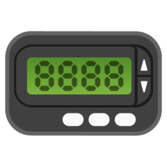 Pager Emoji Google Android, Chromebook