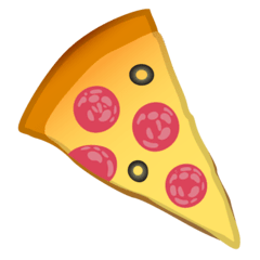 Pizza Emoji Google Android, Chromebook