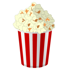 Popcorn Emoji on Google Android and Chromebooks