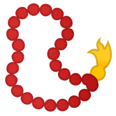Prayer Beads Emoji on Google Android and Chromebooks