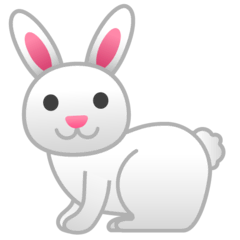 Rabbit Emoji on Google Android and Chromebooks