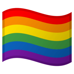 Rainbow Flag Emoji on Google Android and Chromebooks