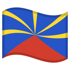Flag: Réunion Emoji on Google Android and Chromebooks